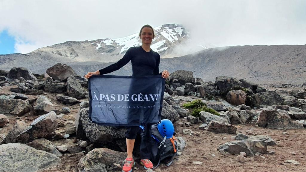 Christine Tarbis à l'assaut des sommets équatoriens